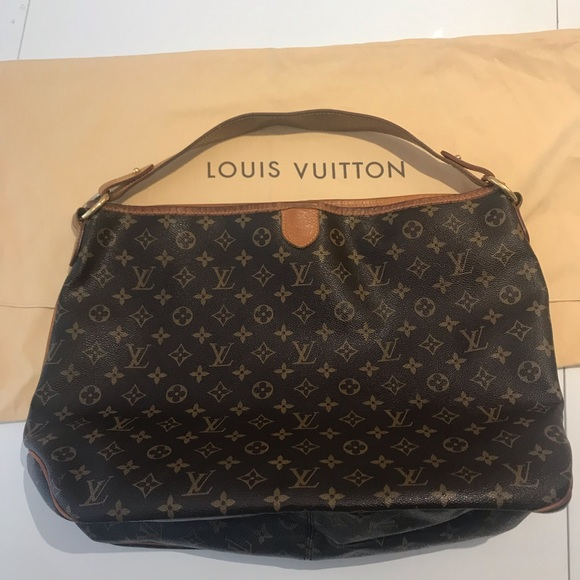 Louis Vuitton Handbags - Louis Vuitton | Large Brown Vintage Hobo Bag